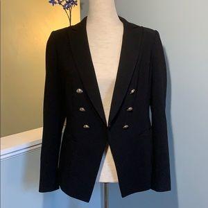 White House Black Market Double Breasted Blazer
